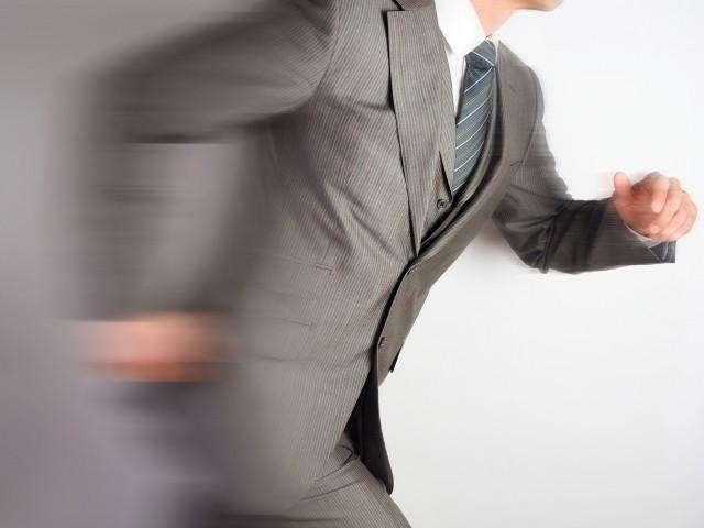 速く動いている人のイメージ