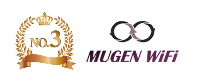ランニング3位 MugenWiFi