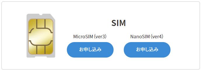 UQ WiMAXのSIMカード